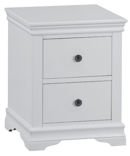 South West Large Bedside Cabinet with 2 Drawers
